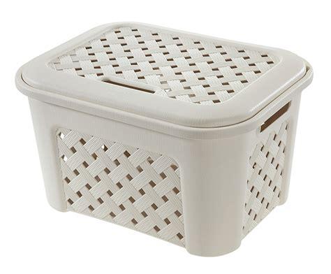 Caja de plástico blanca ARIANNA Ref. 15881544   Leroy Merlin