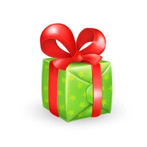 Caja de regalo de dibujos animados con lazo | Vector Gratis