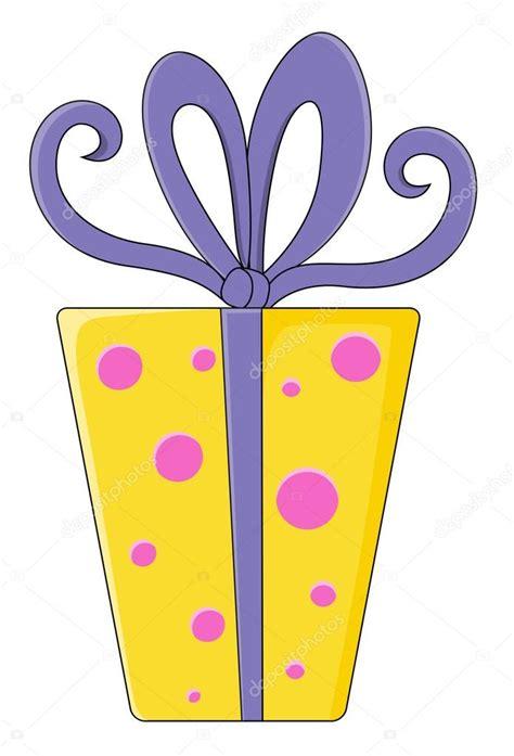 Caja de regalo de dibujos animados   Ilustración de ...