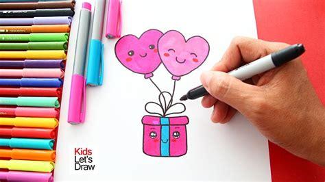 caja de regalo dibujo