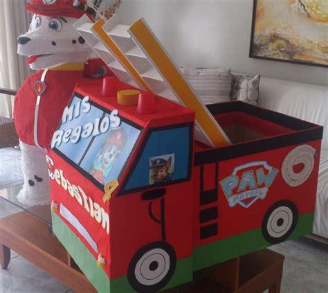 Caja de regalos paw patrol patrulla canina   Fiesta de la ...