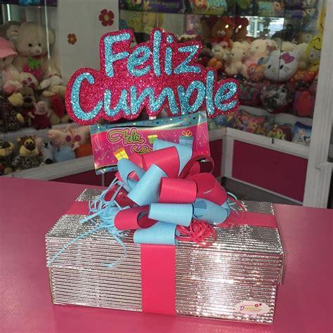Caja decorada con motivo de cumpleaños  @dencantos # ...