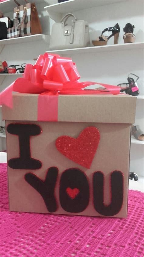 Caja decorada para San Valentín   Cajas decoradas, Cajas ...