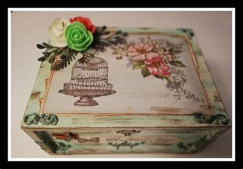 Caja decorada pintada con la chalk de @amelie_orita y con ...