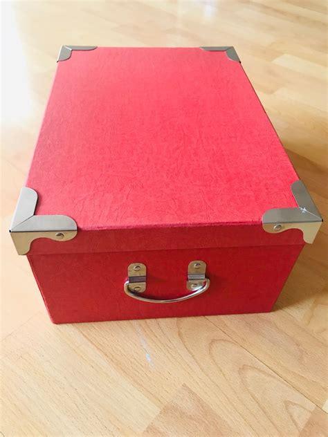 Caja Decorativa De Cartón Y Asas De Metal   $ 200.00 en ...