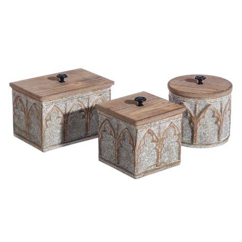 Caja decorativa madera   LOLA home