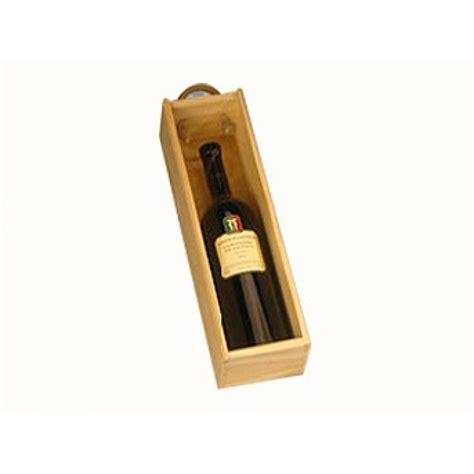 Caja Madera 1 Botella   TomeVinos   Accesorio para el Vino