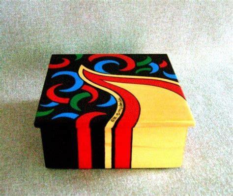 Caja madera pintada 6 | Handspire