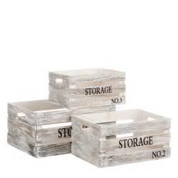Caja multiusos rústica blanca de madera para decoración ...