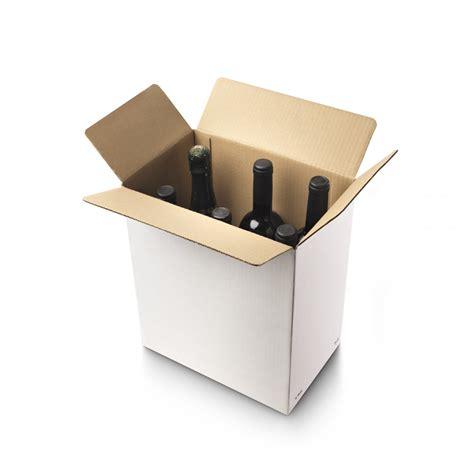 Caja para 6 botellas de vino