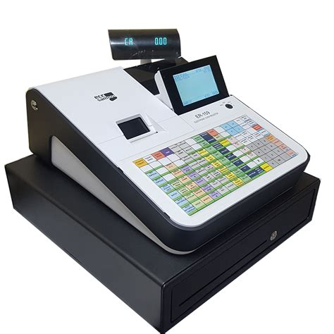 Caja Registradora ECR SAMPOS ER 159F, con Teclado Plano ...