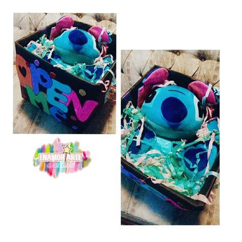 Caja romántica de stitch | Regalos para mi novio, Regalos ...