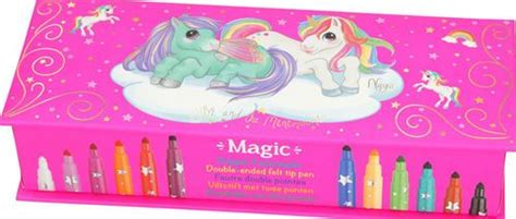 Caja Unicornio con rotuladores magico   Escuin Toys en ...