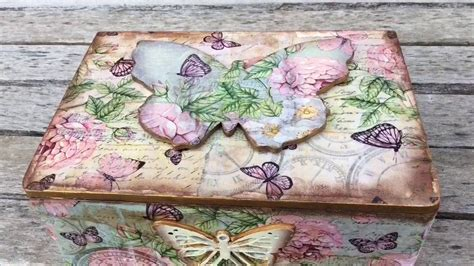 Caja vintage de mariposas myba   YouTube
