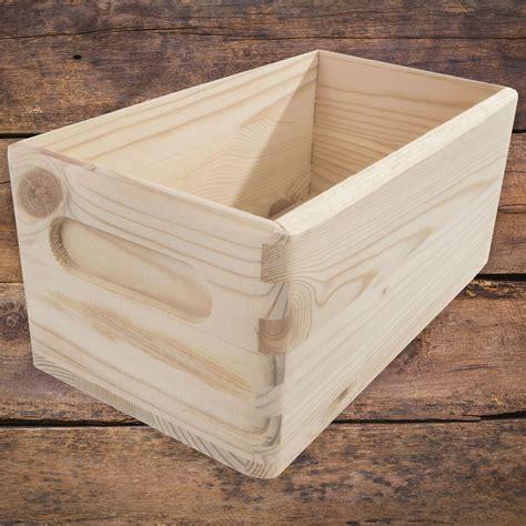 Cajas de almacenaje de madera decorativa Abierto/5 Tamaños ...