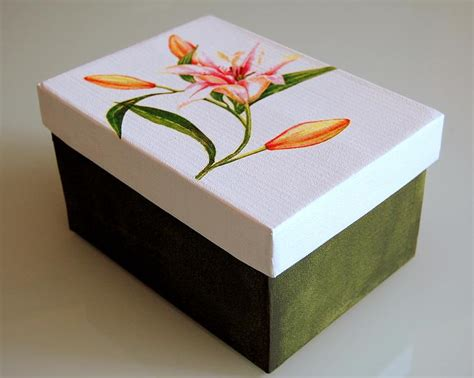 Cajas de carton decoradas en foami   Imagui