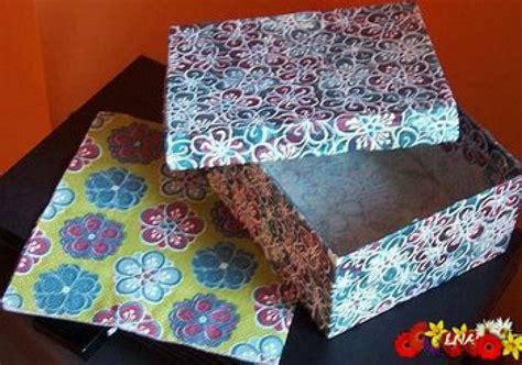 Cajas de cartón decoradas   Manualidades