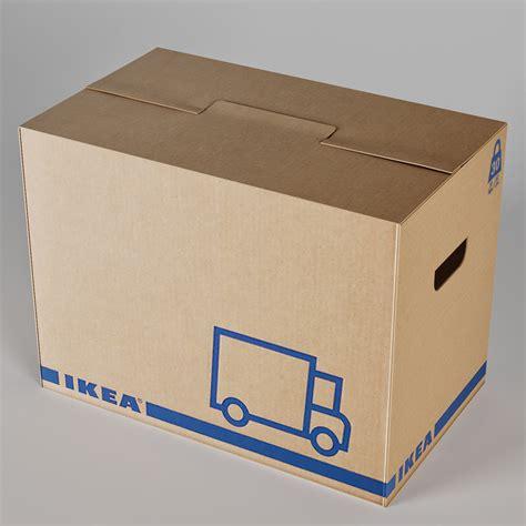 Cajas de cartón Ikea, pack 10 unidades   CartonVivo