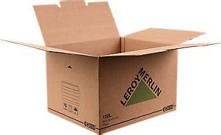 Cajas de cartón · LEROY MERLIN