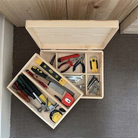 Cajas de madera con compartimentos, decorativas y útiles ...