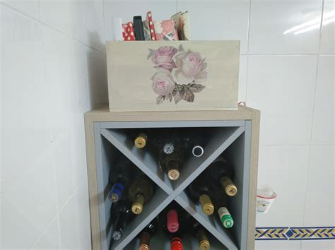 Cajas de madera decoradas   Leroy Merlin
