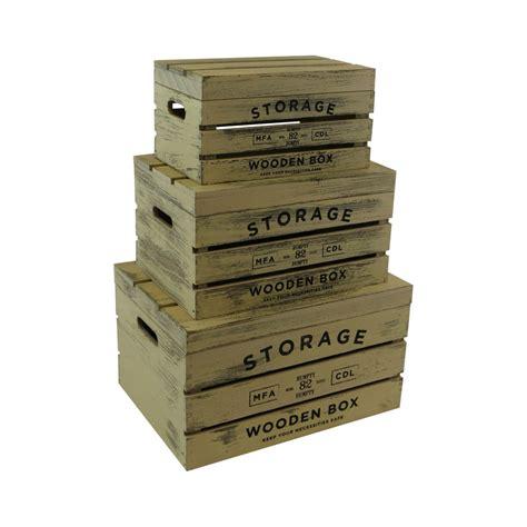Cajas de madera decorativa con tapa, chocolate, juego de 3 ...