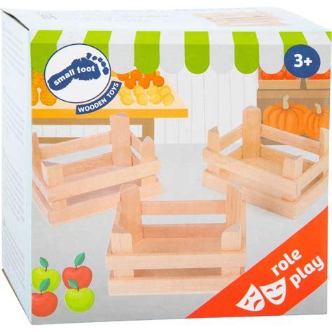 Cajas de madera Natural Pequeñas , 3 Unidades   Shopmami