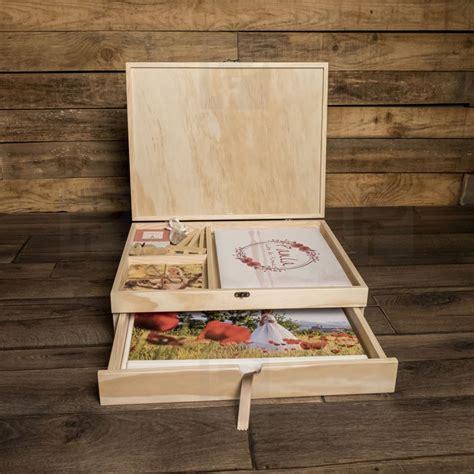 Cajas de madera para álbum 30x40 y libro de firmas de 2 ...