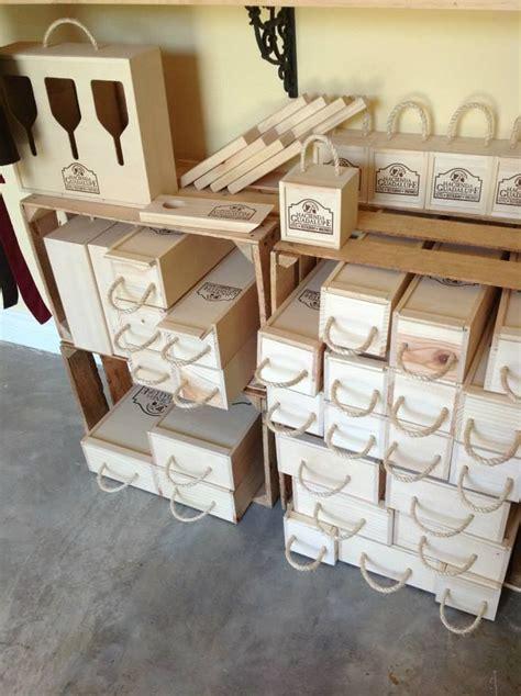 Cajas de madera para botellas de vino y para copas ...