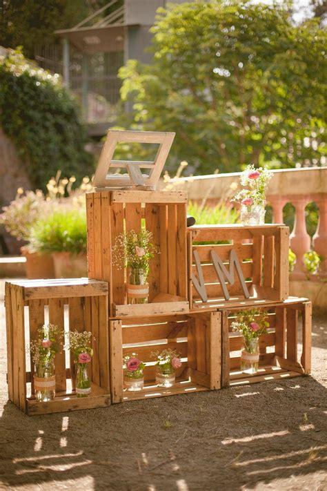 Cajas de #madera para decorar tu #boda #wedding # ...