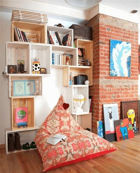 Cajas de madera para fruta para hacer estanterías de pared ...