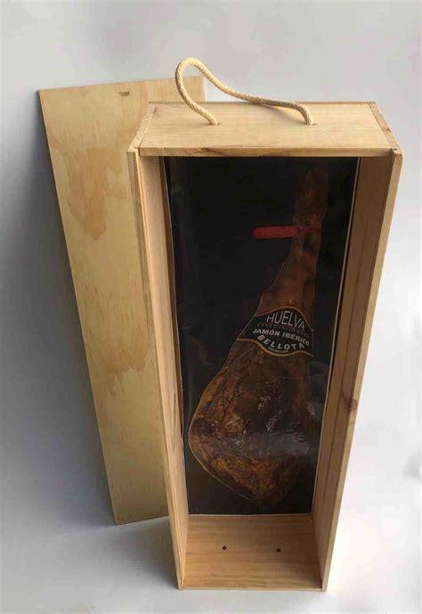 Cajas de madera para jamón o paletilla   COMPRAR