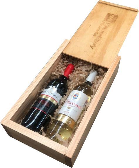 Cajas De Madera Para Vino Con Tapa Grabadas Laser   $ 298 ...
