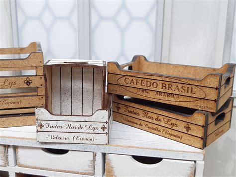 Cajas de madera pequeñas