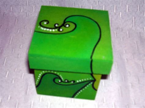 Cajas de madera pintadas.   RECREAR   MANUALIDADES   ARTE