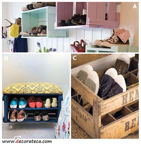 cajas de madera zapatero reciclaje cajas retro vintage ...