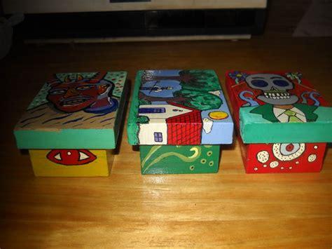 Cajas de maderas pintadas   Imagui