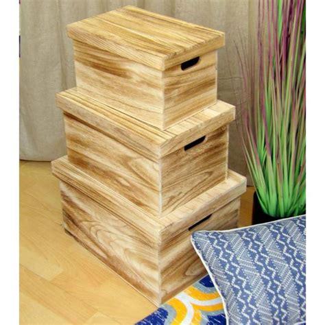 Cajas de ordenación de madera maciza, para ordenar y ...