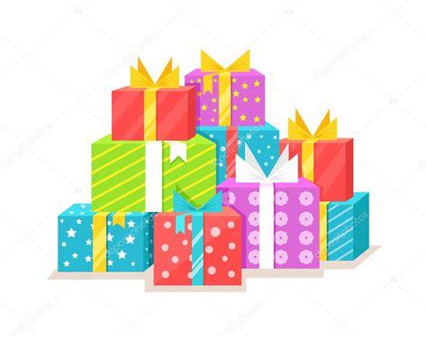 Cajas de regalo. Dibujos animados vectoriales ilustración ...