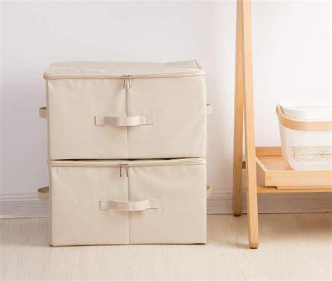 Cajas de tela | Cajas de almacenaje decorativas, Cubos de ...