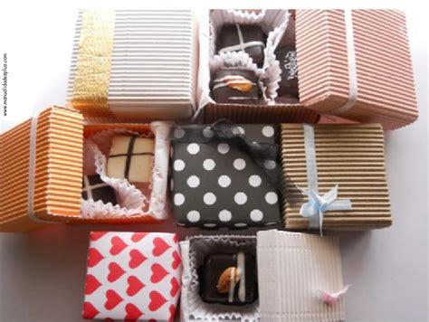 Cajas Decoradas para bombones: 3 Tamaños! Receta, Patrones ...