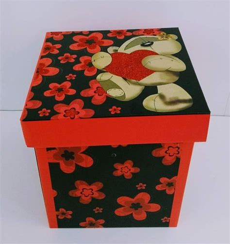 Cajas Decorativas Armables Para Regalos   S/ 8,00 en ...