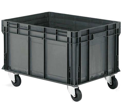 Cajas Industriales de Plástico Eurobox para Almacenaje