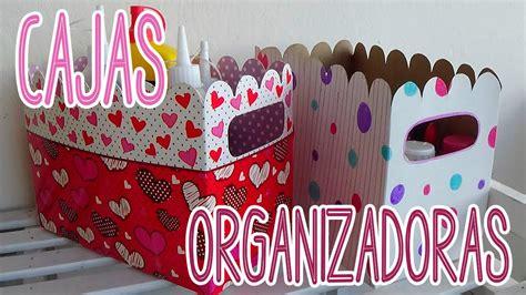 Cajas organizadoras de cartón decoradas   Candy Bu   YouTube