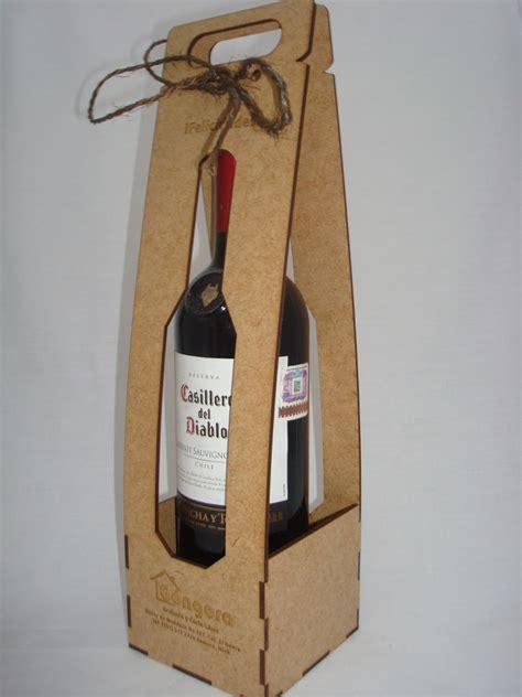 Cajas Para Botellas De Vino   $ 45.00 en Mercado Libre