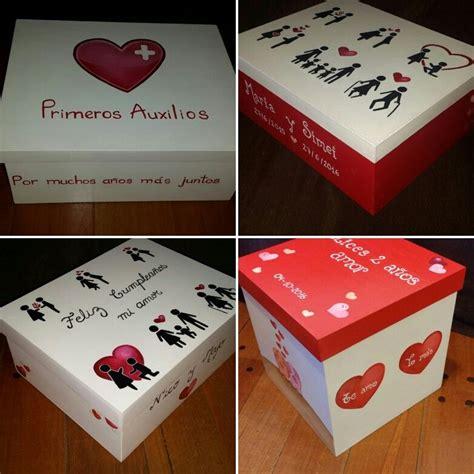 Cajas regalo aniversario cumpleaños personalizadas cubos y ...