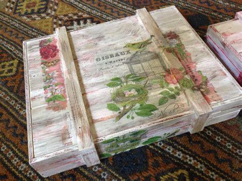 Cajas Vintage Decorativas De Madera   $ 500.00 en Mercado ...