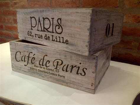 Cajones de madera, Cajas, Cajas decoradas
