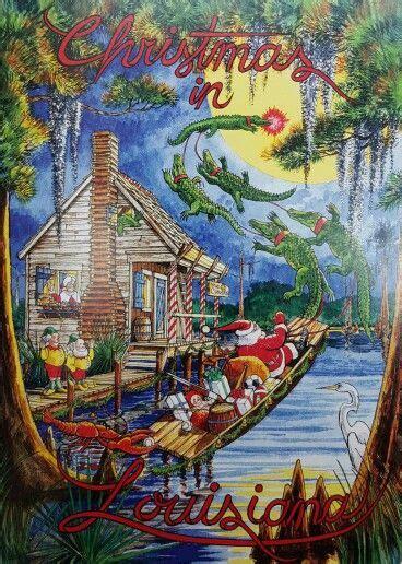 Cajun Swamp Christmas #PapaNoel | Cajun night before ...