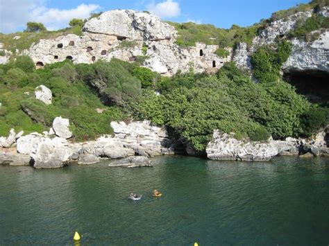 Cala Coves en Menorca
